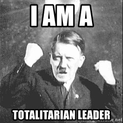 Disco Hitler - I am a Totalitarian leader