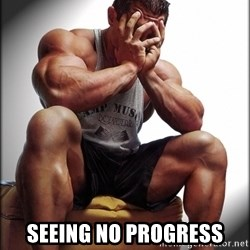 Fit Guy Problems -  Seeing no progress
