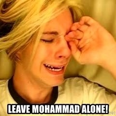 leave britney alone -  leave mohammad alone!