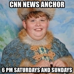 welcome to the internet i'll be your guide - cnn news anchor 6 pm saturdays and sundays