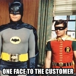 Best Friends -  one face to the customer