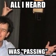 """Drunk Charlie Sheen - All I heard was """"passing"""""""