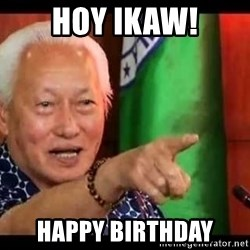 Mayor Lim Meme - hoy ikaw! happy birthday