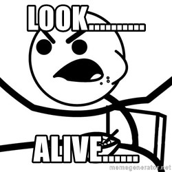 Cereal Guy Angry - look.......... alive......