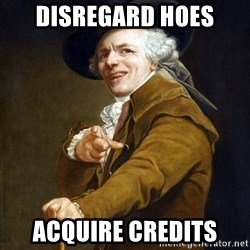 Joseph Ducreaux - DISREGARD hoes Acquire credits