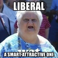 Fat Woman Wat - liberal a smart attractive one