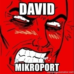 Rage Face - David Mikroport