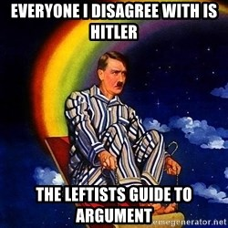 Bed Time Hitler - Everyone I disagree with is Hitler The leftists guide to argument