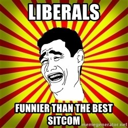 Yao Ming trollface - liberals funnier than the best sitcom