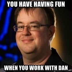 Jay Wilson Diablo 3 - You have having fun when you work with Dan