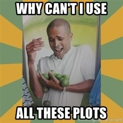 Why can't I hold all these limes - why can't i use all these plots