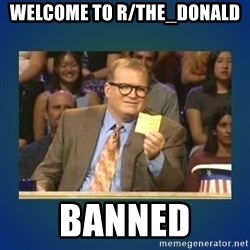 drew carey - Welcome to r/the_donald BANNED
