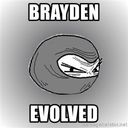 Ninja guy - Brayden  Evolved