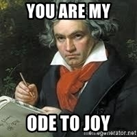 beethoven - you are my ode to joy