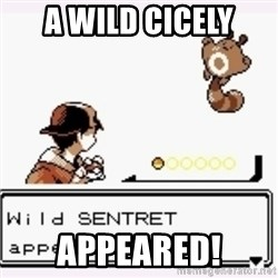 a wild pokemon appeared - A wild cicely AppEared!
