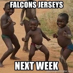 Dancing african boy - Falcons jersEys Next week