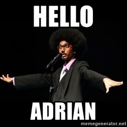 AFRO Knows - Hello Adrian