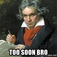 beethoven -  Too soon bro