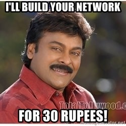 Typical Indian guy - I'll build your network For 30 Rupees!