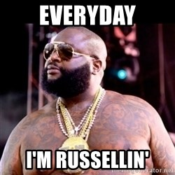 Fat Rick Ross - everyday i'm russellin'