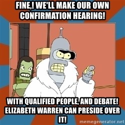 Blackjack and hookers bender - Fine,! we'll make our own Confirmation Hearing! With Qualified People, and Debate! Elizabeth Warren can Preside over it!