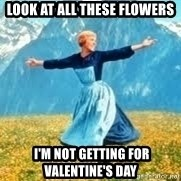 Look at all these - Look at all these flowers  I'm not getting for Valentine's Day