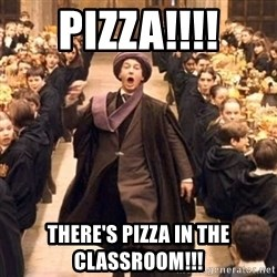 Troll In The Dungeon - Pizza!!!! There's pizza in the classroom!!!