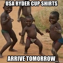 Dancing african boy - Usa ryder cup shirts Arrive tomorrow