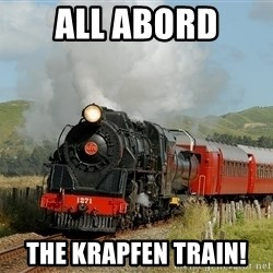 Success Train - All abord the krapfen train!