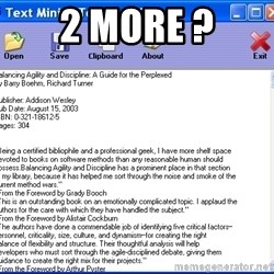 Text - 2 more ?