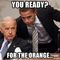 Obama Biden Concerned - you ready? for the orange...
