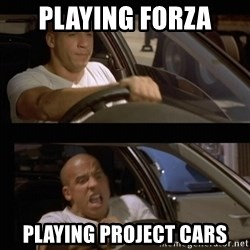 Vin Diesel Car - Playing FORZa PLAYiNG project cars
