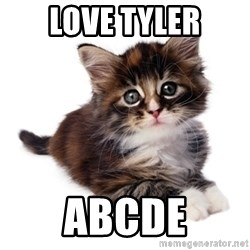 fyeahpussycats - Love Tyler ABCDE