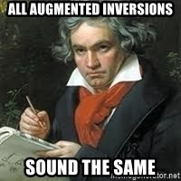 beethoven - All augmented inversions sound the same