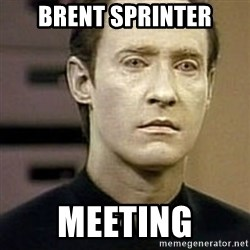 Star Trek Data - Brent Sprinter meeting
