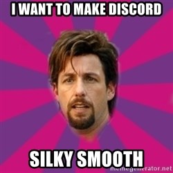 zohan - I want to make discord silky smooth