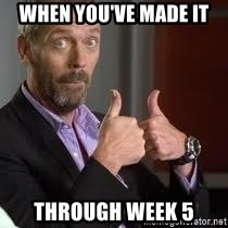 cool story bro house - When you've made it through week 5
