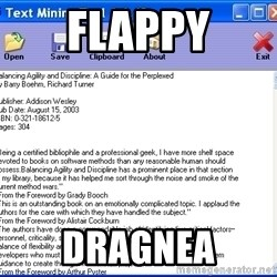 Text - Flappy Dragnea