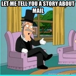 buzz killington - let me tell you a story about mail