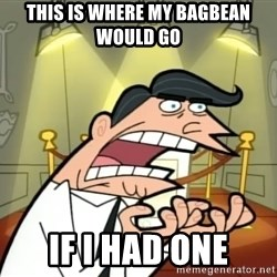Timmy turner's dad IF I HAD ONE! - THIS IS WHERE MY BAGBEAN WOULD GO IF I HAD ONE