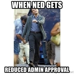 Leonardo DiCaprio Walking - wHEN nED gETS rEDUCED aDMIN aPPROVAL