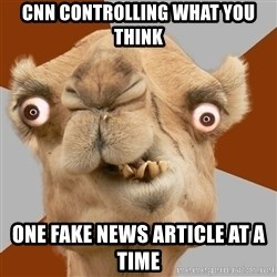Crazy Camel lol - CNN controlling what you think One Fake News aRticle at a time