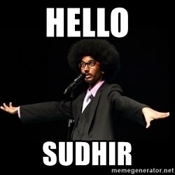 AFRO Knows - Hello Sudhir
