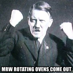 Successful Hitler -  MRw rotating ovens come out