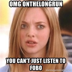 OMG KAREN - omg onthelongrun you can't just listen to fobo