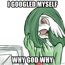 Pokemon Reaction - I googled myself why god why