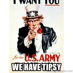 I Want You -  we have tipsy