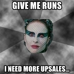Black Swan Eyes - Give me runs I need more upsales...