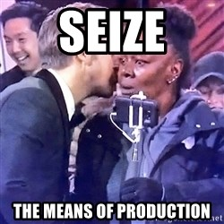 Ryan Gosling Oscars - seize the means of production