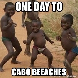 Dancing African Kid - One day to Cabo beeaches